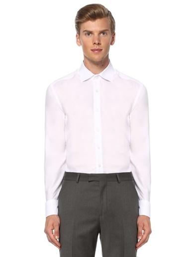 Beymen Club Comfort Fit Gömlek Beyaz